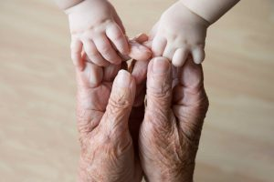 Helping hands, care for the elderly